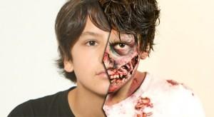 Veja o tutorial pra fazer maquiagem de zumbi.